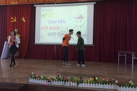 Giáo dục kỹ năng sống cho Teens Đoàn Thị Điểm với chủ đề Tình yêu - Hôn nhân và Giới tính