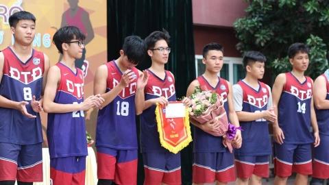 Kết thúc giải bóng rổ Đoàn Thị Điểm mở rộng
