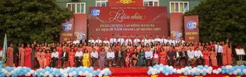 Đội ngũ giáo viên Đoàn Thị Điểm
