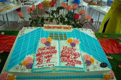 Tiệc Buffet chào mừng 10 năm thành lập trường