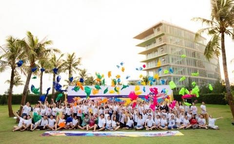 Sự trải nghiệm của BCH Đoàn trường và các đoàn viên tiêu biểu tại FLC Sầm Sơn