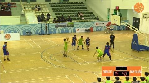 Đoàn Thị Điểm ra quân  rực rỡ tại giải bóng rổ học sinh THPT Hà Nội