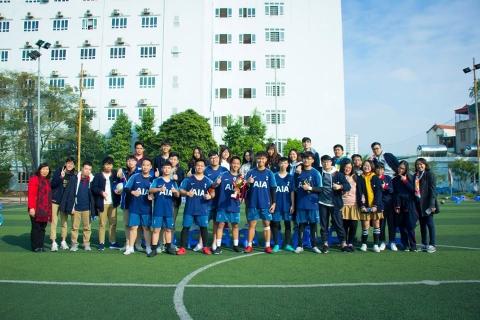 Chung kết giải bóng đá Đoàn Thị Điểm 2018 - 2019