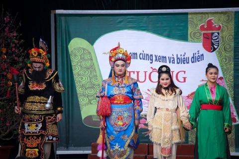 Điểm hẹn văn hóa - Nghệ thuật Tuồng với các con Đoàn Thị Điểm