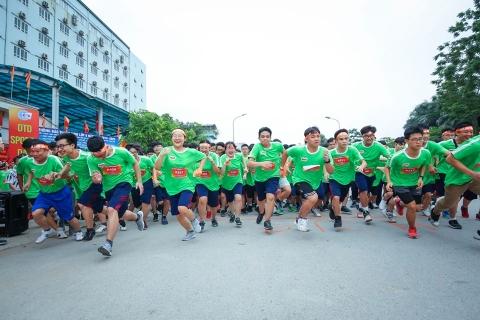 RUN FOR YOUR LIFE - GIẢI CHẠY THÀNH CÔNG VÀ Ý NGHĨA CỦA NGÀY HỘI THỂ THAO ĐOÀN THỊ ĐIỂM 2019