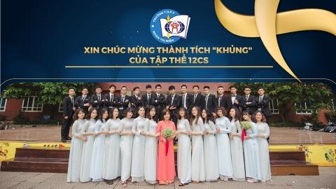 THÀNH TÍCH KHỦNG CỦA 12CS VỚI KỲ THI THPT QUỐC GIA
