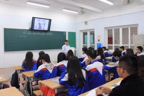 Học sinh THPT Đoàn Thị Điểm được phát triển đa kỹ năng